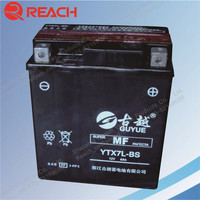 High Performance YTX7-BS Motorcycle battery Maintenance Free MF Battery