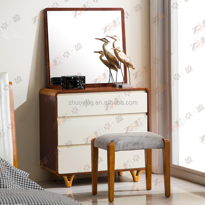CHINESE STYLE MODERN RUBBER WOODEN DRESSER