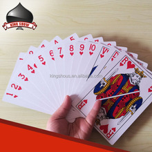CMYK offset printing custom playing cards large print