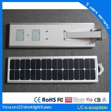 easy installation 30w led solar street light all in one