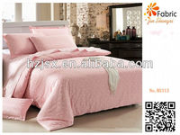 100% cotton polka dots pink bedding set BS113