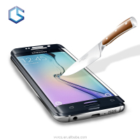 3D Full cover Tempered glass screen protector for samsung galaxy s6 edge cell phone shield