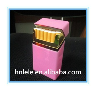 Colorful soft OEM brand silicone cigarette case, silicone cigarette pack cover, silicone cigarette box