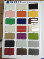 pvc uv coating color panel for wall and kitchen cabinet decoration