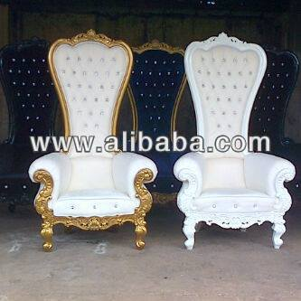 king queen chair buy cheap king and queen chairs product on. Black Bedroom Furniture Sets. Home Design Ideas
