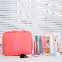 2016 latest polyester travel multi-function cosmetic bag
