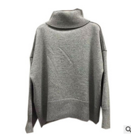 Z90010A New fashion design winter knitted wool cashmere woman sweater