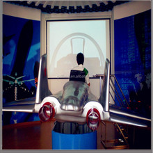 2015 lifang amusement fly simulator machine for sale
