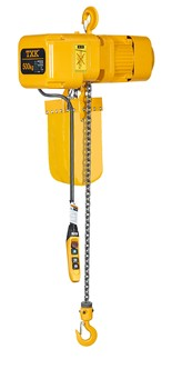 0.5 ton electric chain hoist with hook