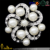 Cheap beautiful decorative small crystal rhinestone pearl valentine brooch