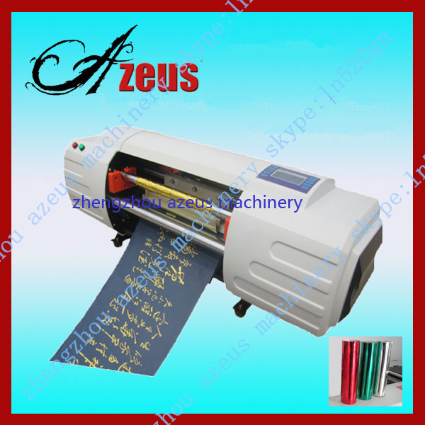 Invitation card foil printing machine / gold foil printer for sale
