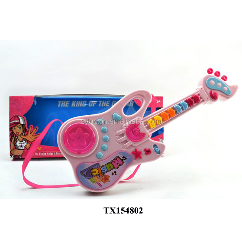 B/O cartoon baby miniature toy guitar for kids