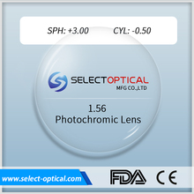 El Mercado de China 1.56 photochromic antirreflectante <span class=keywords><strong>lentes</strong></span> <span class=keywords><strong>para</strong></span> <span class=keywords><strong>gafas</strong></span>