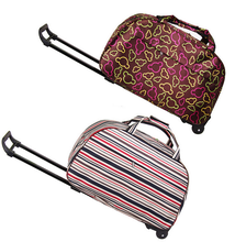 Women lady trendy sky travel trolley bag parts, journey wheeled travel bags
