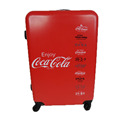 Red Cola Pattern ABS PC Customized Bags Luggage Wheeled Luggage Bag