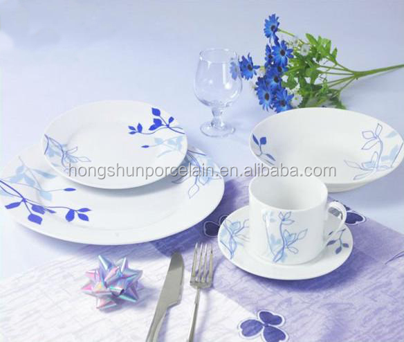 30pcs ceramic wholesale indian dinner sets
