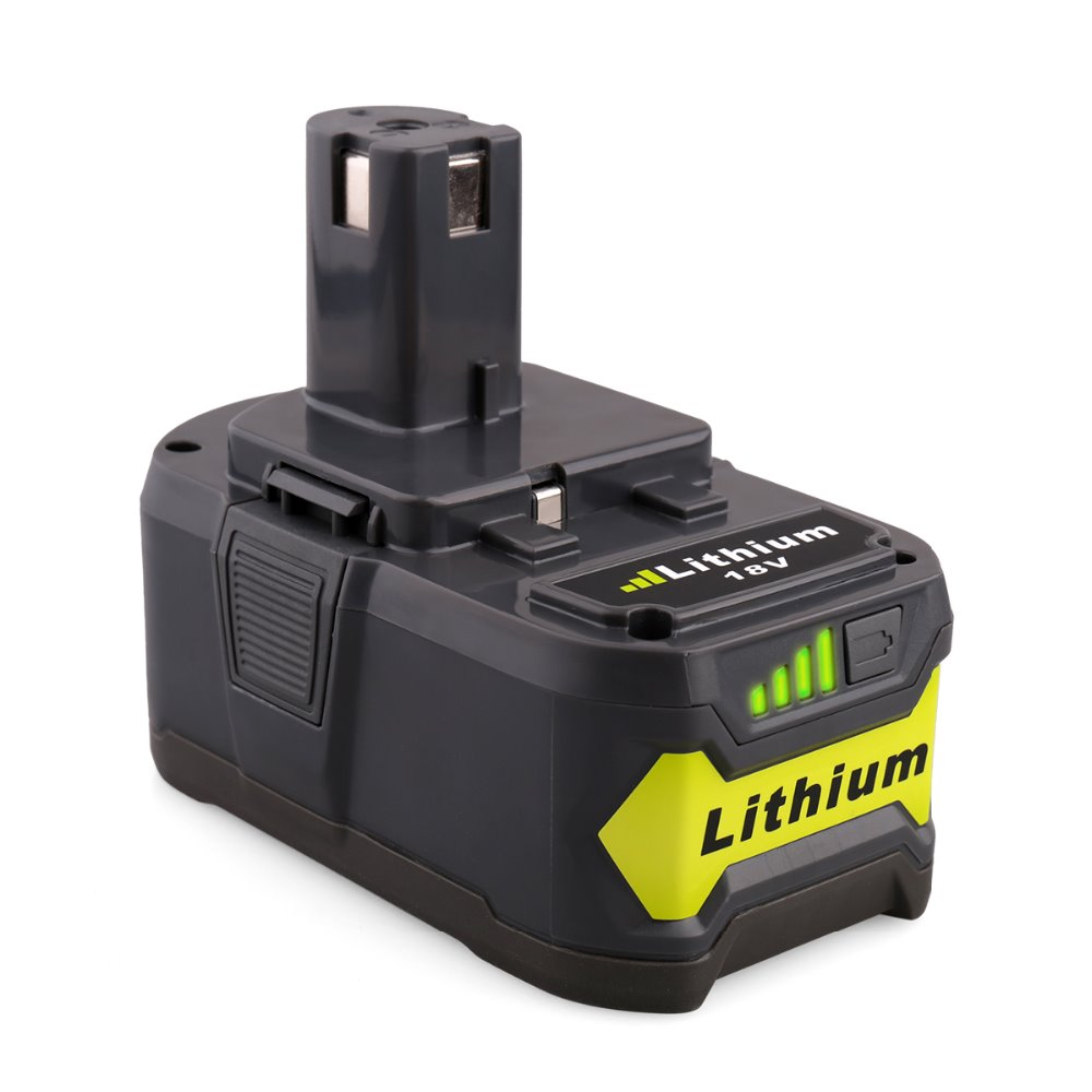 Replacement power tool battery pack for Ryobi 18V 4.0Ah Lithium battery