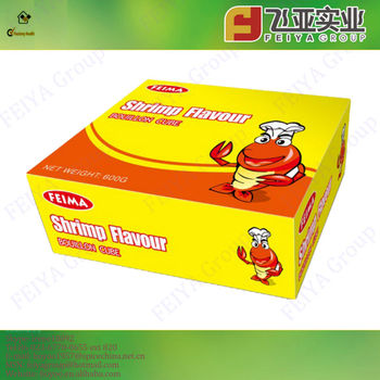 China-made Compound seasoning Shrimp Bouillon Cubes
