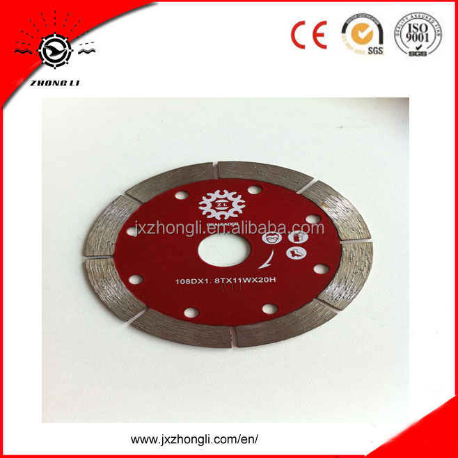 plasplugs tile saw dry cut blade for cutting stone marble granite