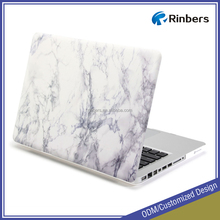 "White Marble Hard Cover Case for MacBook Pro 13"" A1278"