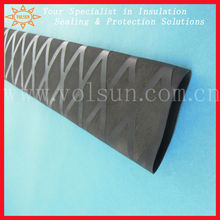 Nonslip heat shrink sleeve for fishing rod