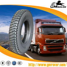 Used TBR truck tires 13R22.5 heavy duty tires lorry tyres GM ROVER brand all on sale