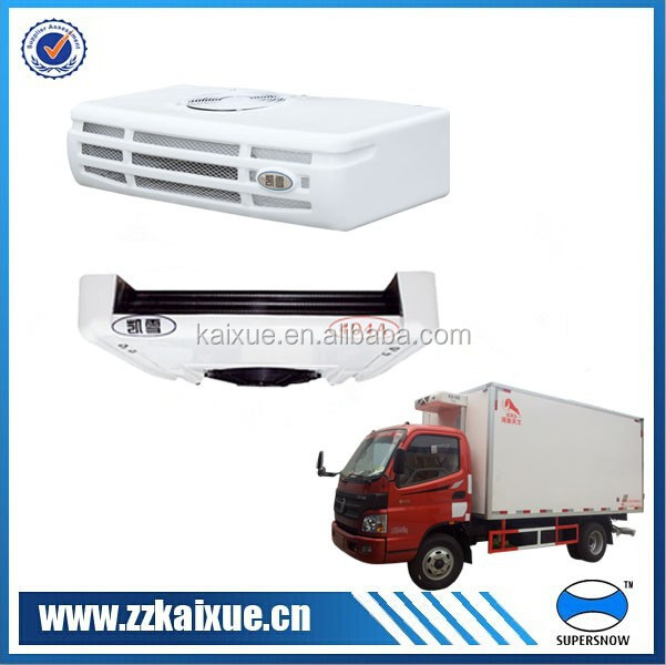Large blowing rate used refrigeration units for trucks