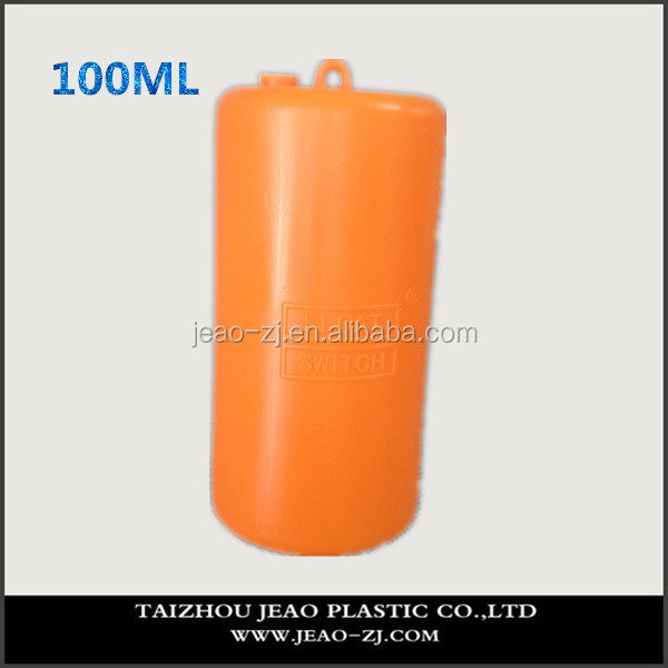 Dark Yellow 100ml Plastic Flow Switch used in sanitary wate