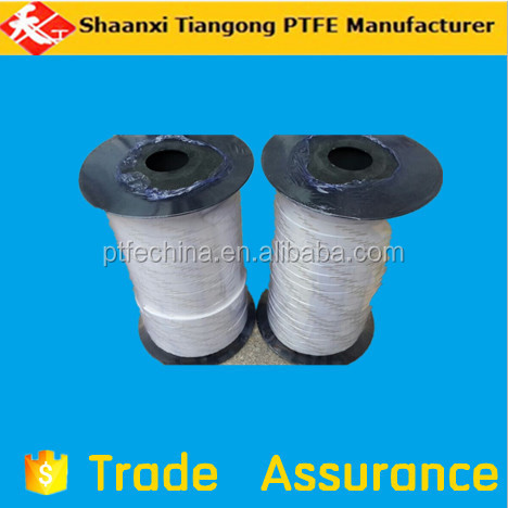 Anti-high temperature 100% pure material PTFE teflon expanded tape with glue