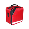 Easy handle roadside first aid kit with shoulder strip and carring handle in a 600D waterproof and dustproof nylon bag