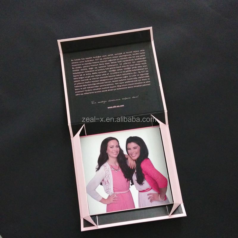 Beauty Gift Collapsible Magnet Box With Full Color Printing For Shampoo Packing Custom Box Package