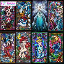 New Cartoon Princess Full Drill Mosaic Rhinestone 5D DIY Diamond painting cross stitch kits handmade embroider Crafts for child