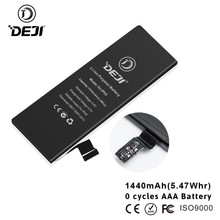 DEJI mobile phone accessories for iphone 5 battery 1440mah