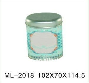 candy tin and oval tin box packaging