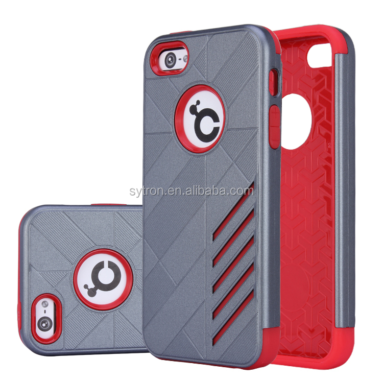 Dual Protective Bumper Combo Armor Case for iphone 5s