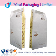 full color printing laminated puncture proof gusset bags