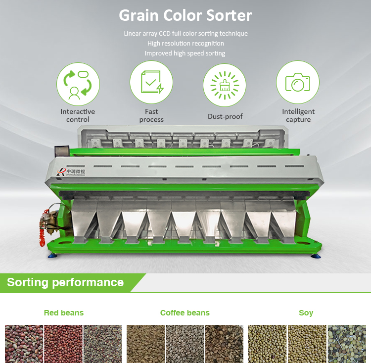 salt color sorter machine
