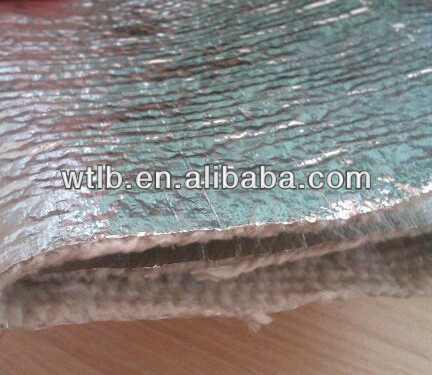 Fireproof Resistance Ceramic Fiber Cloth Coated Aluminium