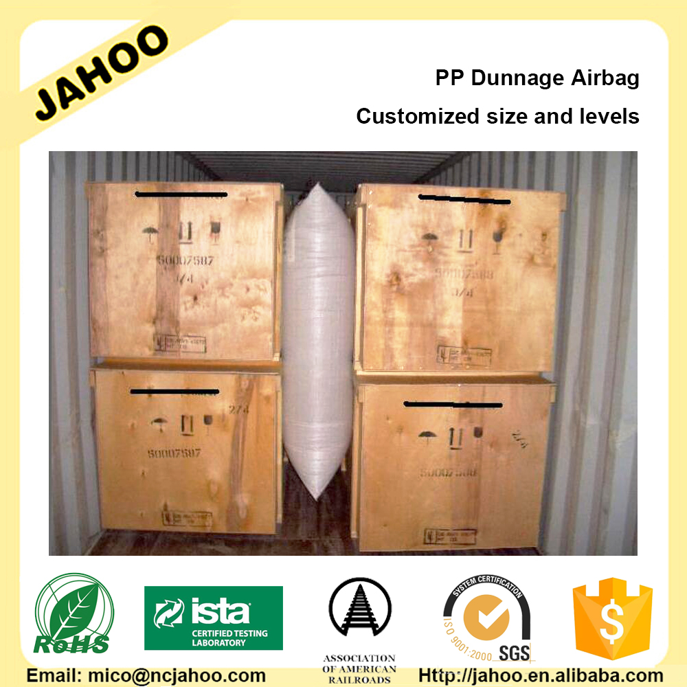 Avoid Transport Cargo Damages Container Air Dunnage Bag for Packing