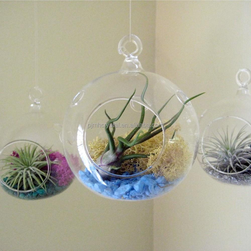 Modern wedding decorative crystal hanging balls mh