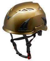 CE EN12492 approved OEM custom ABS cave adventure safety helmet