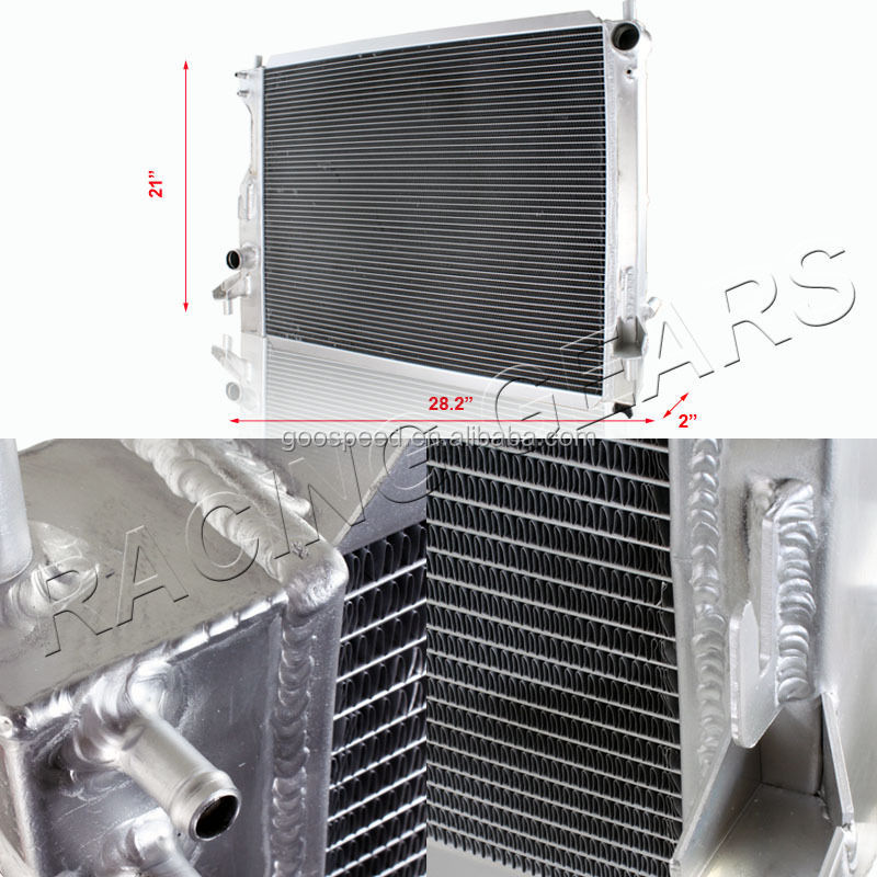 3 rows All Aluminum Radiator for FORD MUSTANG 2005+