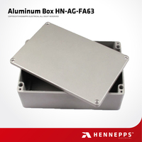 HENNEPPS IP66 Diecast High Strength Easy Install Aluminium Box Case