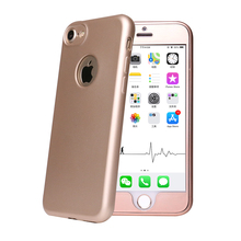 2017 mobile phone accessories tpu full cover 360 phone case for iphone 7 7 plus