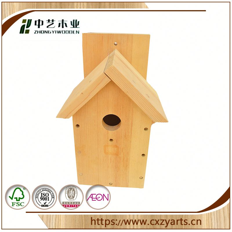 Fashionable best selling china factory hand carved wooden bird houses bird cage