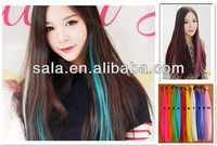 46cm 18 inch rainbow color hair extension stick tape hair extension wholesale