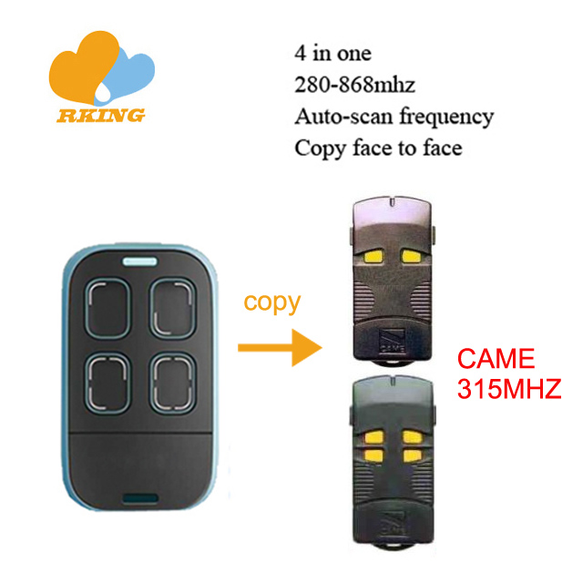 multifrequency wireless remote control duplicator 280mhz-868mhz rolling code & fixed code