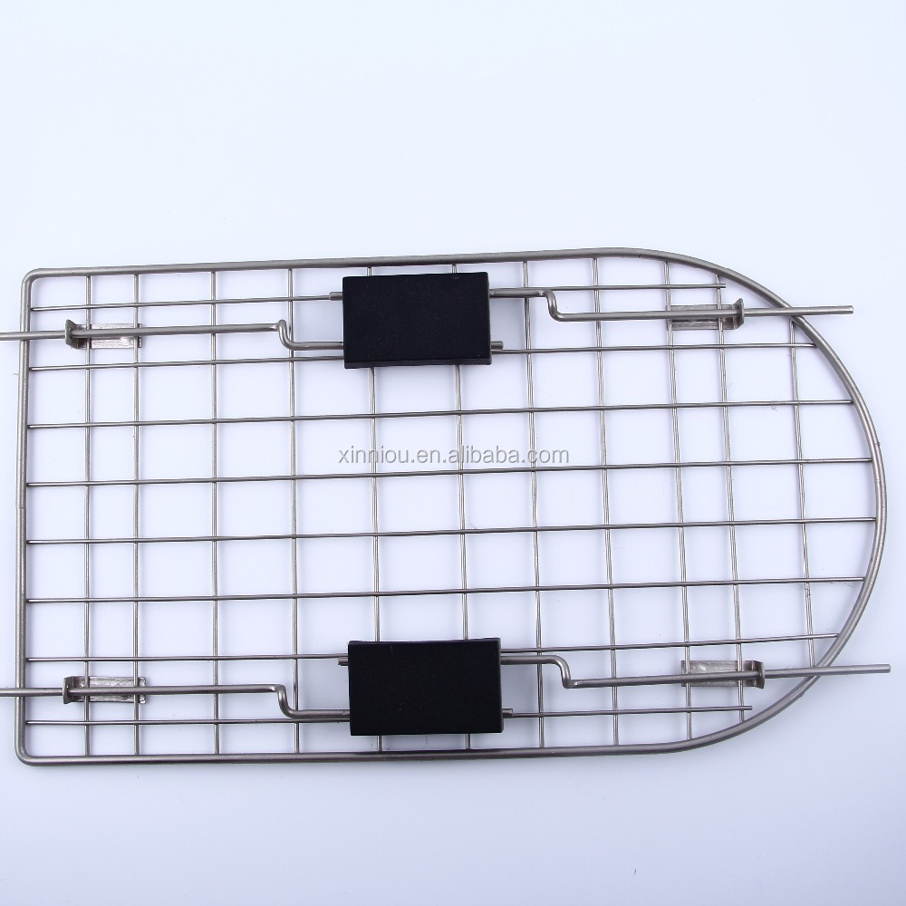 Pet cage gate/dog cage gate