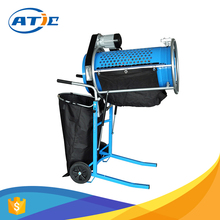 Vibration sieve with 230V motor, 45rpm drum rotation rotary vibrating sieve shaker