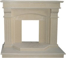 Good price wholesale durable service marble fireplace back panel